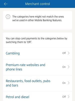 barclays bank blocks spending app
